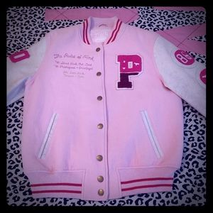Victoria's secret PINK rare Letterman's jacket